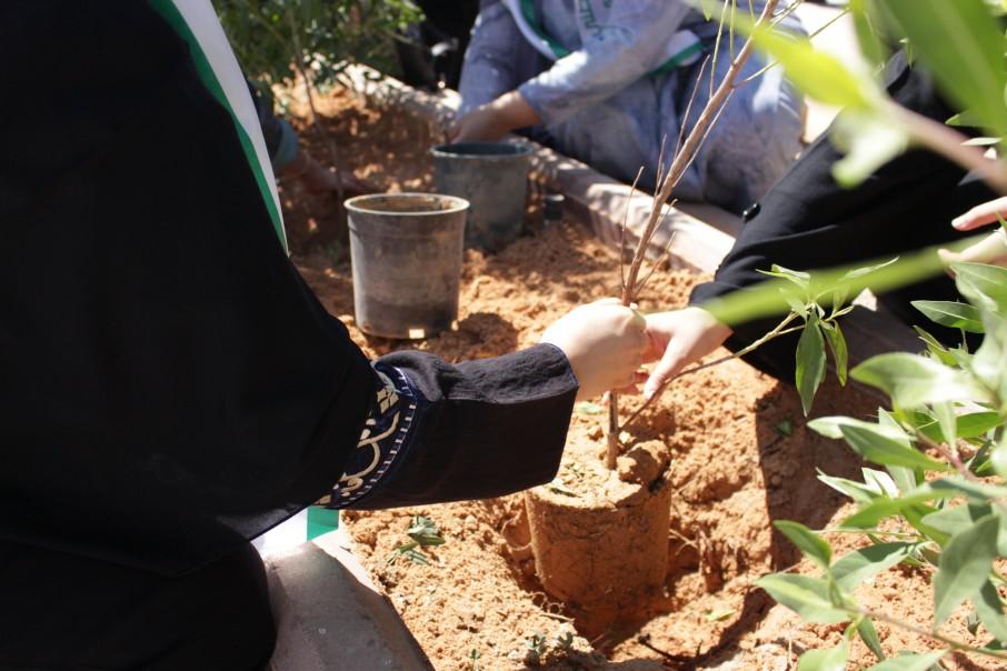 مبادرة تطوعية (لأجلك وطني) من تنظيم قسم العلوم المساندة