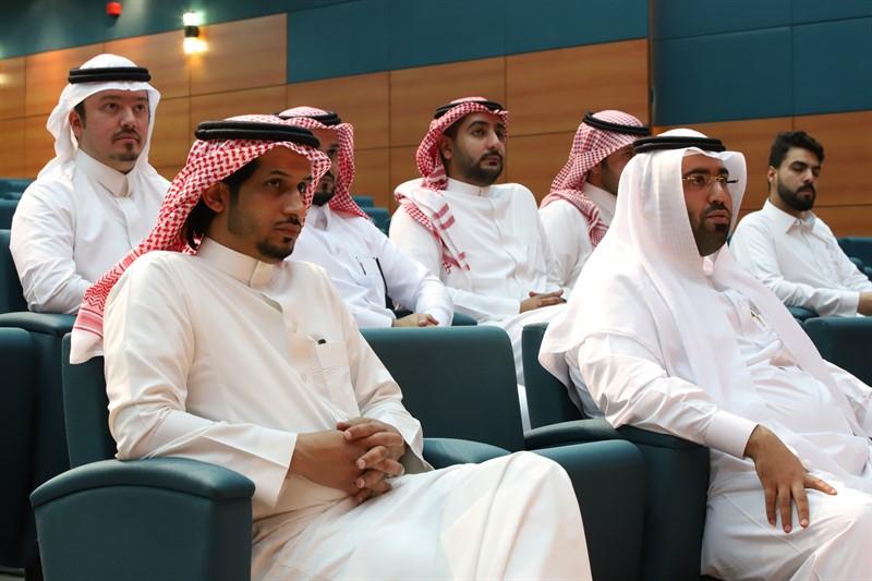 بالتعاون مع الجمعية السعودية للمراجعين الداخليين قسم المحاسبة يقيم محاضرة بعنوان (مهنة المراجعة الداخلية)